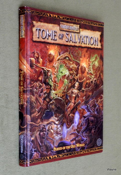 Image for Tome of Salvation (Warhammer Fantasy Roleplay)