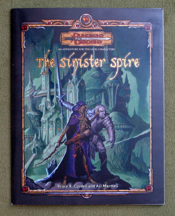 Image for The Sinister Spire (Dungeons & Dragons d20 3.5 Fantasy Roleplaying Adventure, 4th Level)