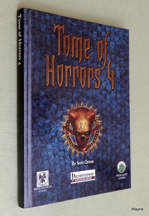 Image for Tome of Horrors 4 (Pathfinder Version)