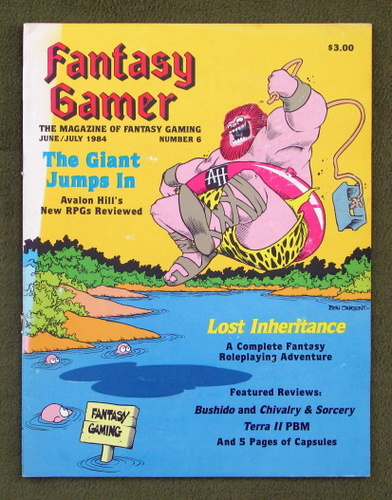 Image for Fantasy Gamer, Number 6: The Magazine of Fantasy Gaming (June/July 1984)