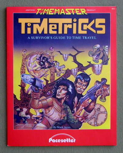 Image for Timetricks: A Survivor's Guide to Time Travel (Timemaster)