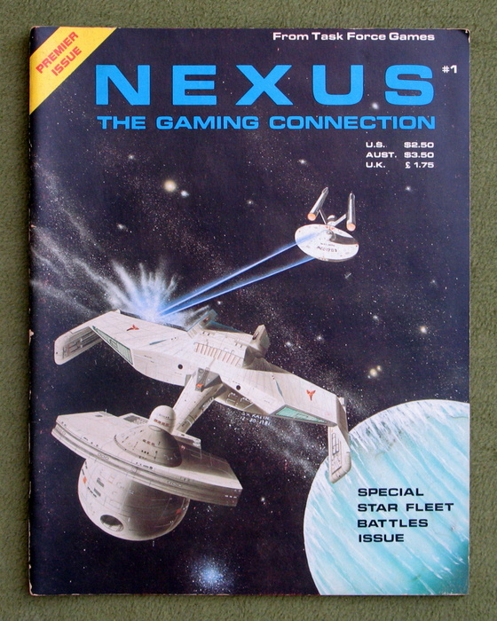 Image for Nexus The Gaming Connection #1 Premier Issue April/May 1982