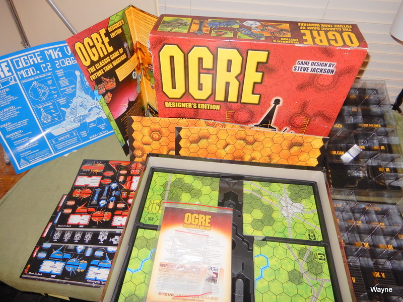 Image for OGRE: Designer's Edition (6th Edition box set) - from the Kickstarter