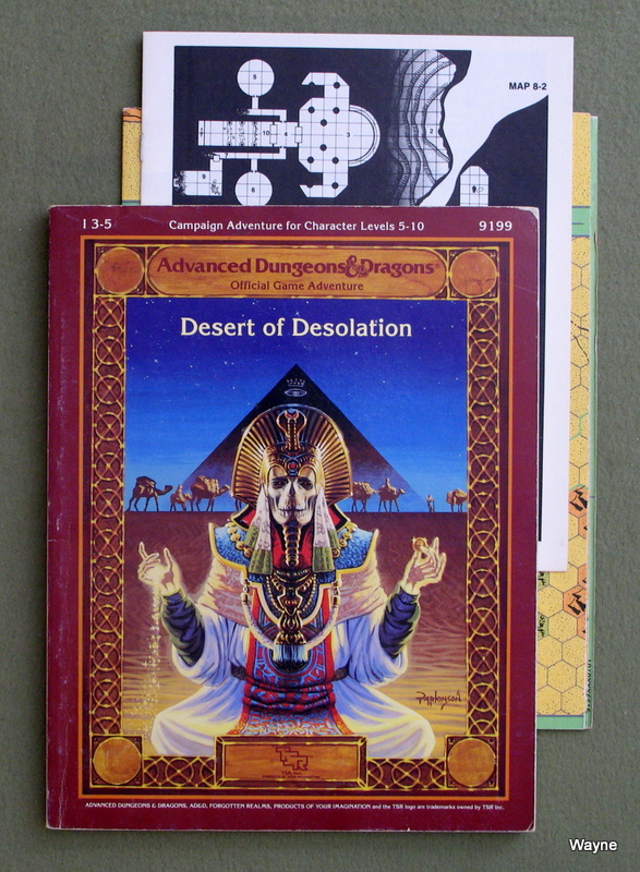 Image for Desert of Desolation (Advanced Dungeons and Dragons Module I3-5)