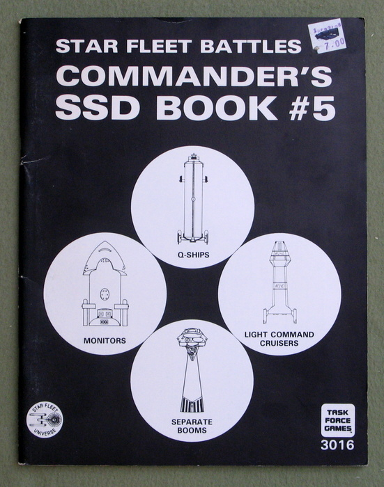 Image for Star Fleet Battles Commander's SSD Book #5