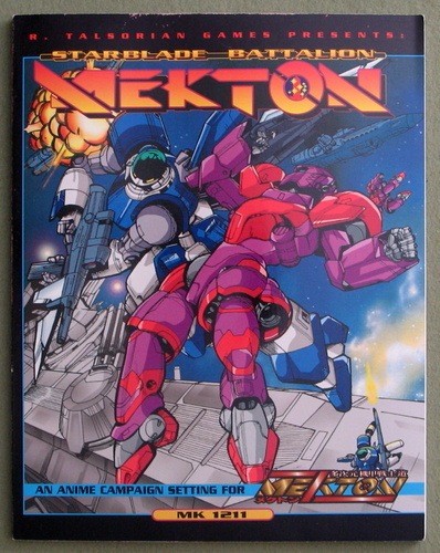 Image for Starblade Battalion MEKTON: A Campaign Setting for Mekton Zeta