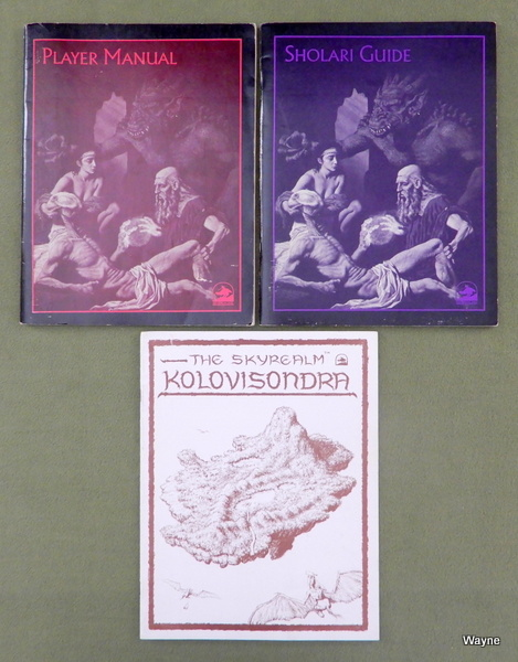 Image for JORUNE: Player Manual, Sholari Guide, Skyrealm Kolovisondra