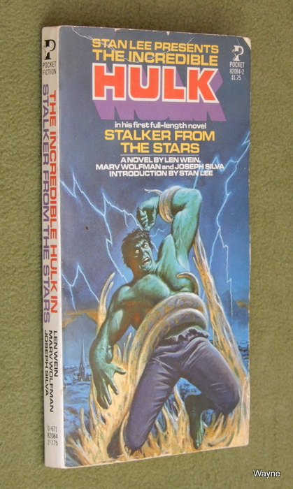 Image for The Incredible Hulk: Stalker from Stars