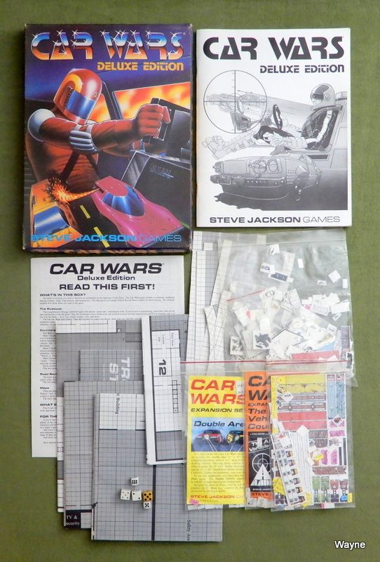Image for Car Wars: Deluxe Edition