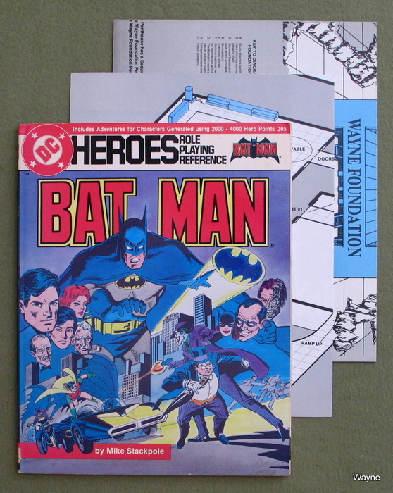 Image for The Batman Role-Playing Sourcebook (DC Heroes)
