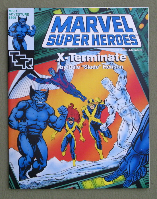 Image for X-Terminate (Marvel Super Heroes Module MSL1)