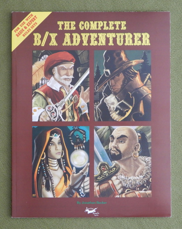 Image for The Complete B/X Adventurer: Basic & Expert Rules Sets