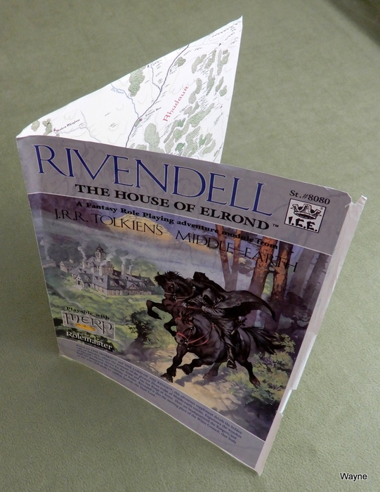 Image for Cover Proof Sheet: Rivendell (Middle Earth Role Playing/MERP)