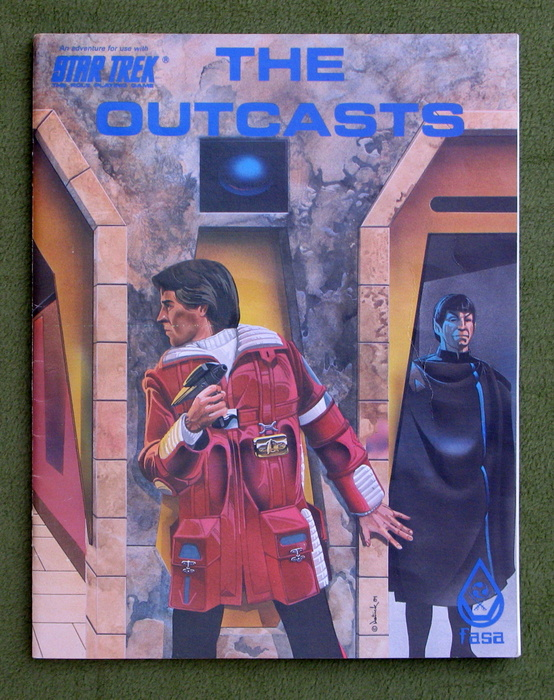 Image for The Outcasts (Star Trek: The Role Playing Game)