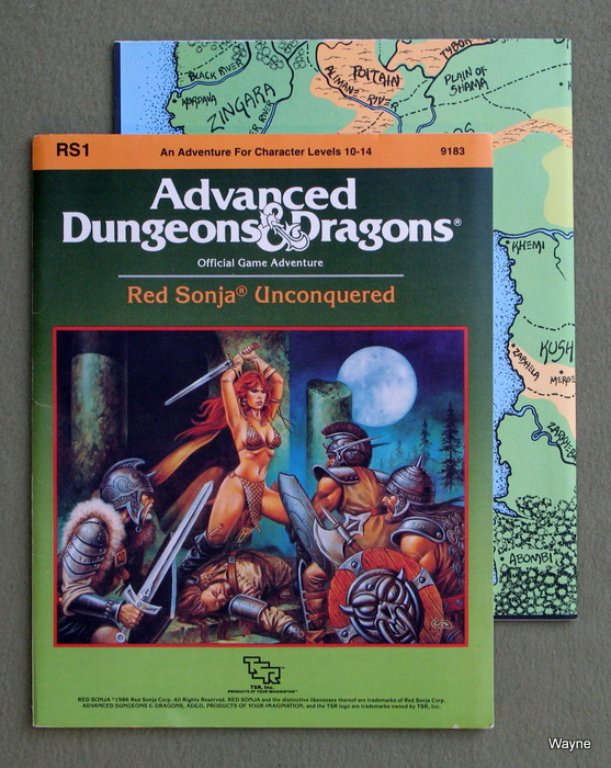 Image for Red Sonja Unconquered (Advanced Dungeons & Dragons Module RS1)