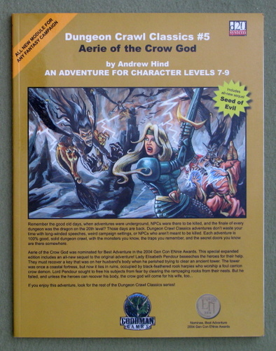 Image for Aerie of the Crow God (Dungeon Crawl Classics 5)