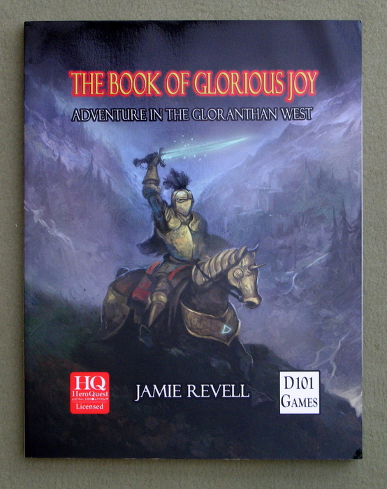 Image for The Book of Glorious Joy: Adventure in the Gloranthan West (Glorantha/Runequest/Heroquest)