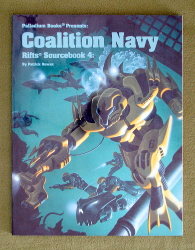 Image for Rifts Sourcebook 4: Coalition Navy