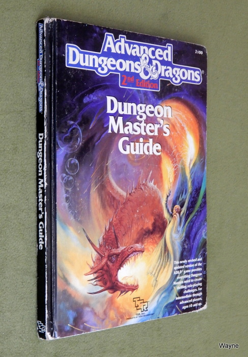 Image for Dungeon Master's Guide (Advanced Dungeon and Dragons, 2nd Edition) - PLAY COPY