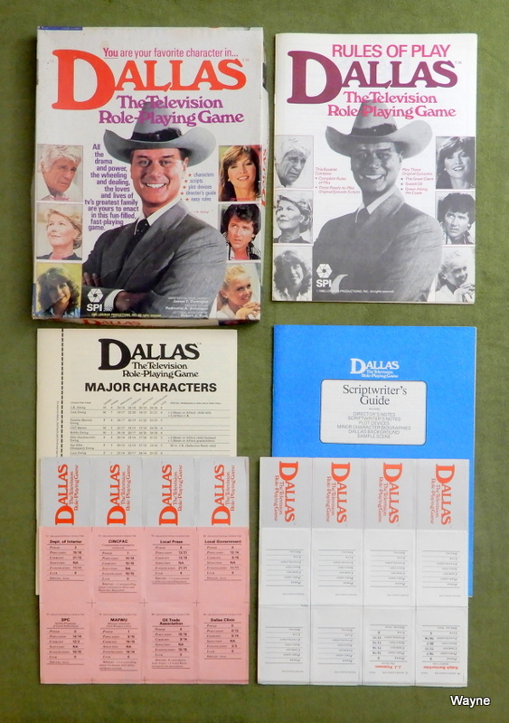 Image for Dallas: The Television Role Playing Game