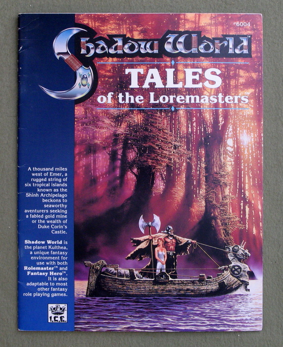 Image for Tales of the Loremasters (Rolemaster / Shadow World)