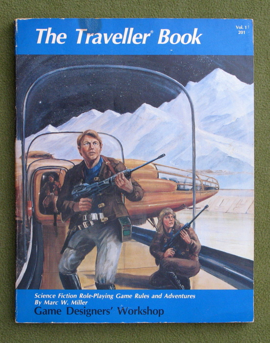 Image for The Traveller Book: Traveller Science-Fiction Adventure in the Far Future - PLAY COPY