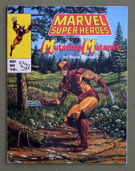 Image for Mutating Mutants (Marvel Super Heroes Adventure MLBA1)