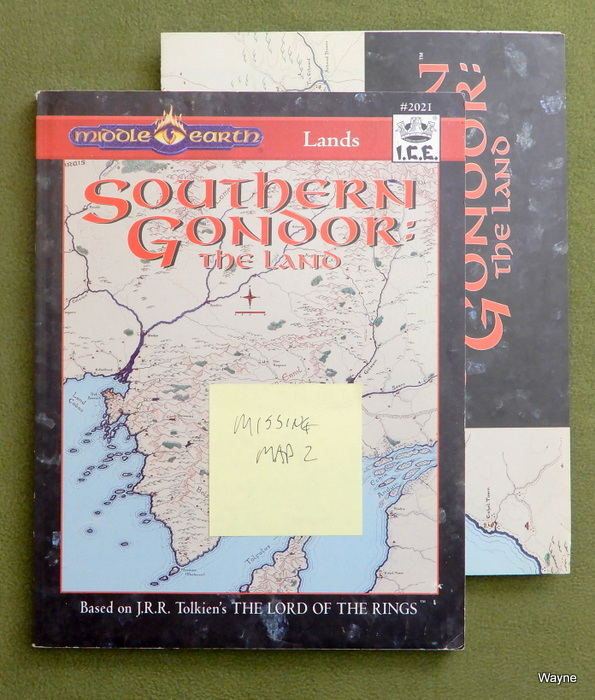 Image for Southern Gondor: The Land (MERP) - MISSING 1 MAP