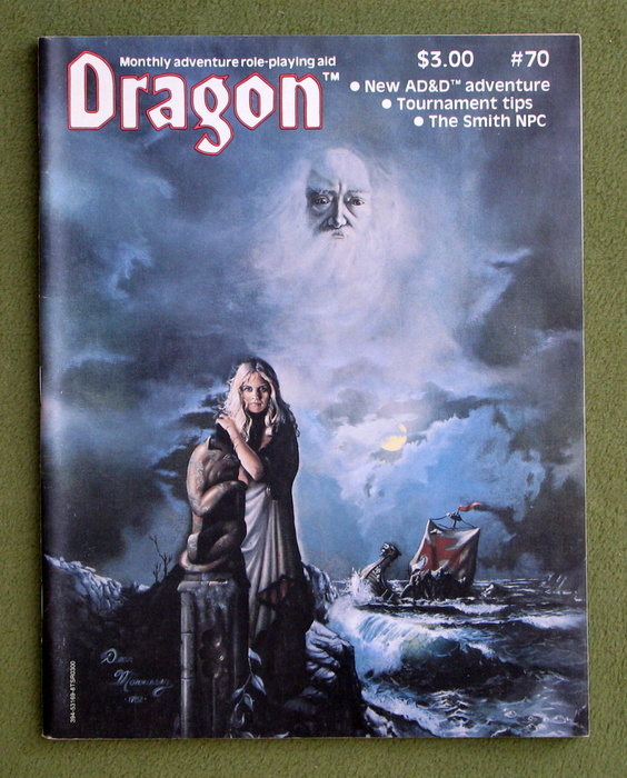 Image for Dragon Magazine, Issue 70