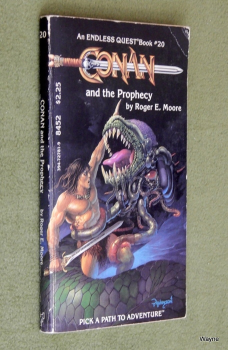 Image for Conan & the Prophecy (Endless Quest Book #20)