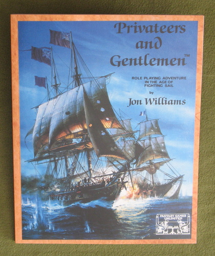 Image for Privateers and Gentlemen: Role Playing Adventure In The Age Of Fighting Sail