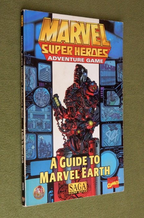 Image for A Guide to Marvel Earth (Marvel Super Heroes) - PLAY COPY