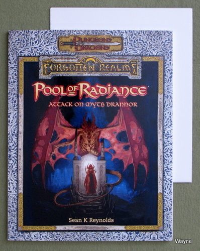 Image for Pool of Radiance: Attack on Myth Drannor (Dungeons & Dragons: Forgotten Realms)