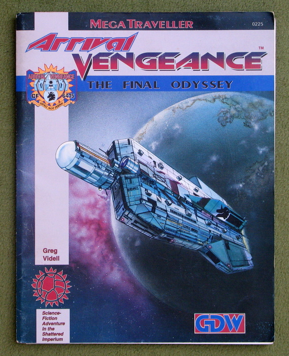 Image for Arrival Vengeance: The Final Odyssey (Megatraveller)