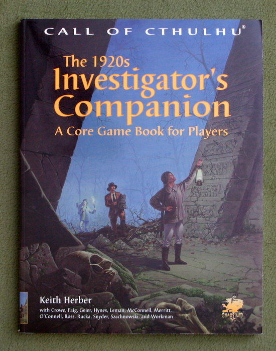 Image for The 1920s Investigator's Companion: A Core Game Book for Players (Call of Cthulhu)
