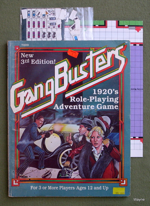 Image for Gangbusters 1920's Role-Playing Adventure Game (3rd Edition) - PLAY COPY