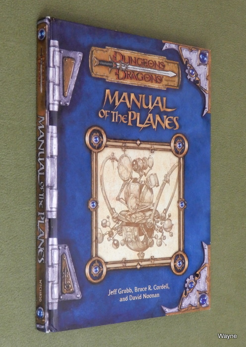 Image for Manual of the Planes (Dungeon & Dragons d20 3.0 Fantasy Roleplaying)