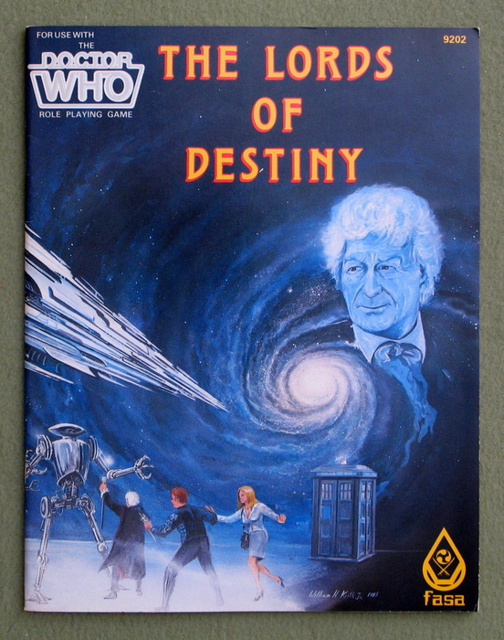 Image for The Lords of Destiny (Dr. Who Role Playing Game)