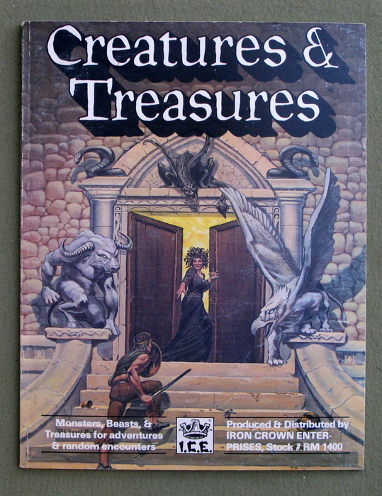 Image for Creatures and Treasures (Rolemaster)