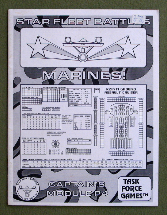 Image for Marines! Captain's Module P4 (Star Fleet Battles)