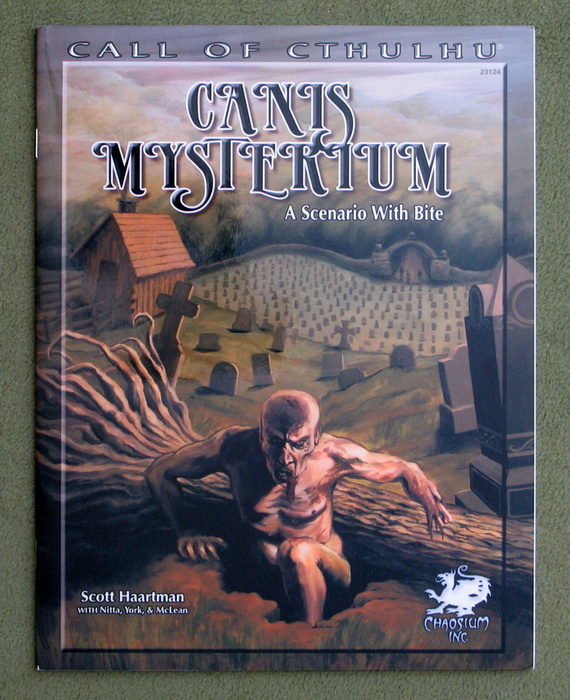 Image for Canis Mysterium: A Scenario With Bite (Call of Cthulhu roleplaying)