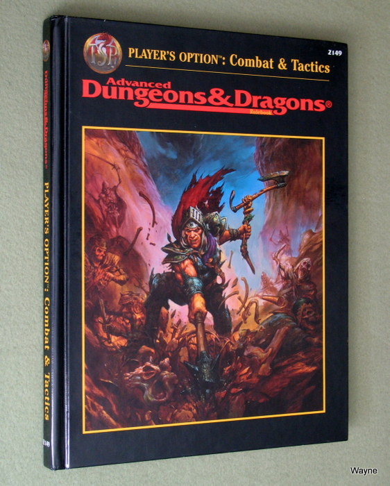 Image for Player's Option: Combat & Tactics (Advanced Dungeons & Dragons, 2nd Edition)