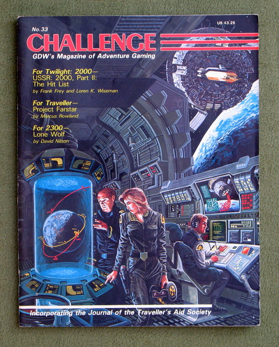 Image for Challenge Magazine, Issue 33 - PLAY COPY