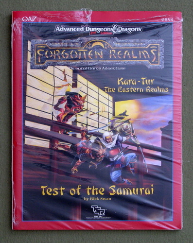 Image for Test of the Samurai (Advanced Dungeons & Dragons / Forgotten Realms / Kara-Tur Module OA7)