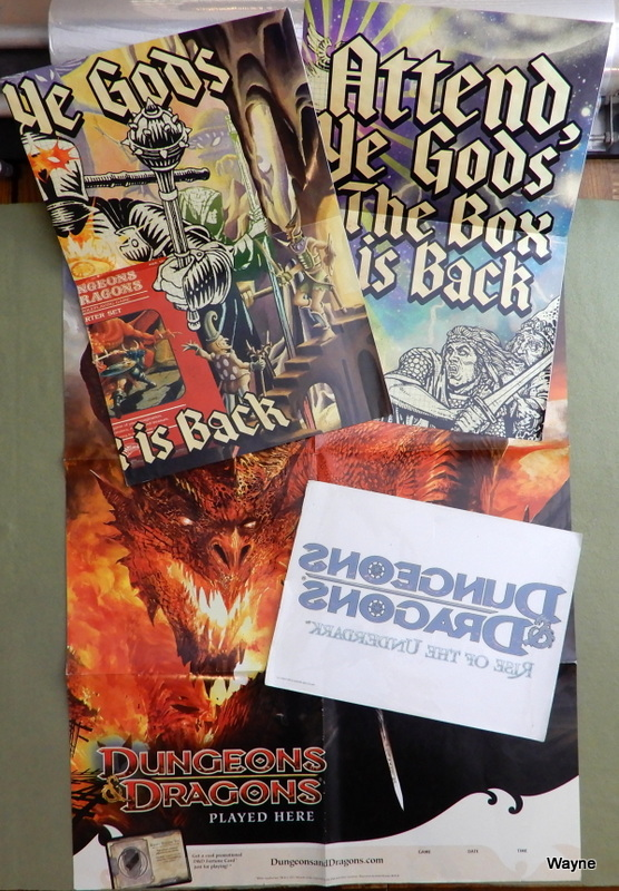 "Image for 3 Posters: 4th Edition Dungeons & Dragons era - ""The Box is Back"""