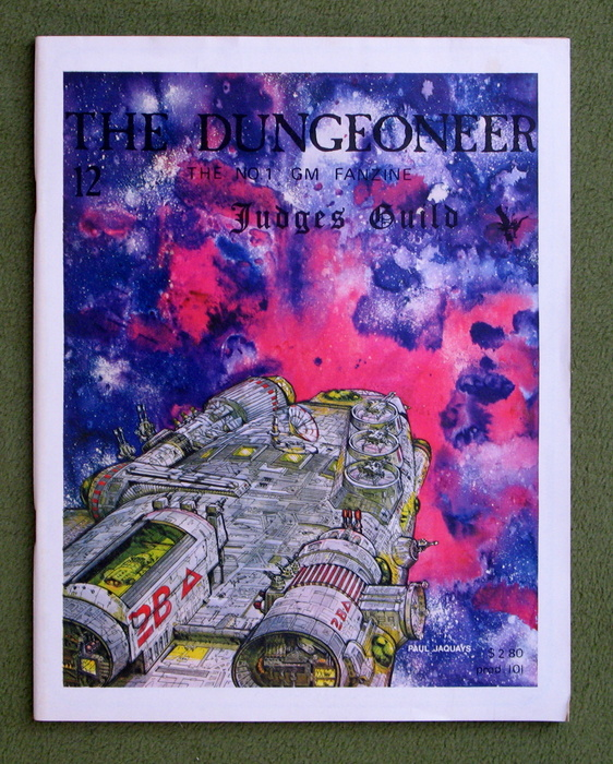 Image for The Dungeoneer, Issue 12 (July/Aug 1979)