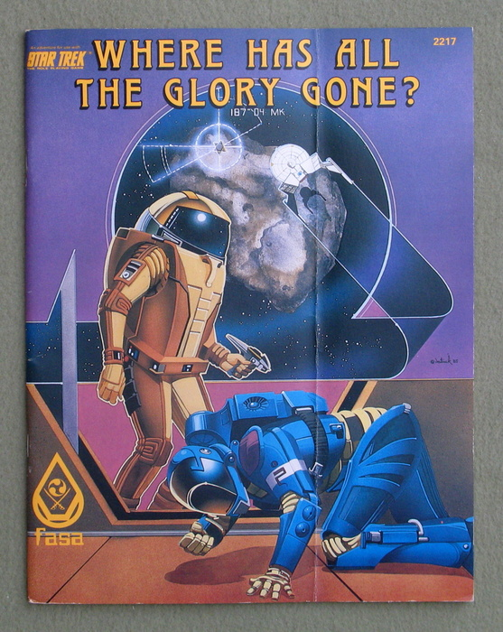 Image for Where Has All the Glory Gone? (Star Trek: The Roleplaying Game)