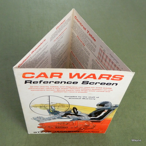 Image for Car Wars Reference Screen - NO VEHICLE SHEETS