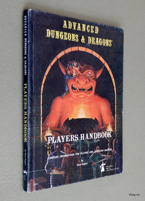 Image for Players Handbook (Advanced Dungeons & Dragons, 1st Edition) - 3RD PRINT