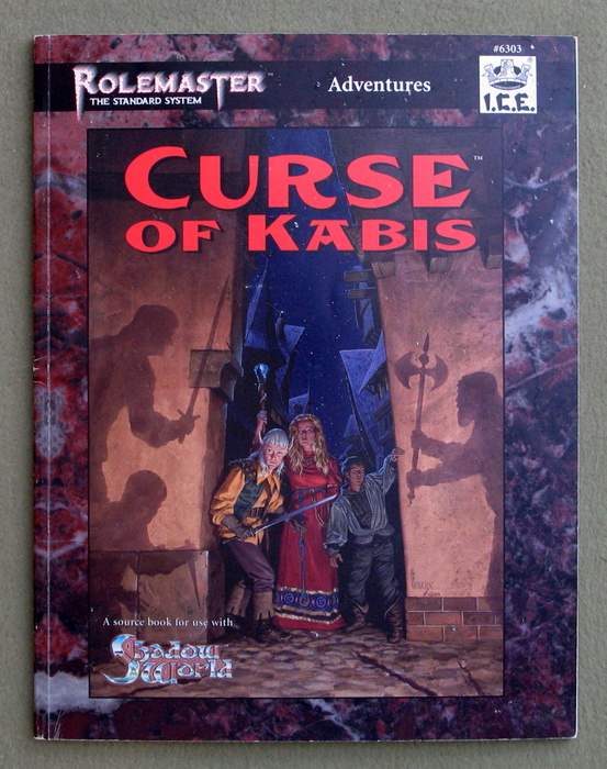Image for Curse of Kabis (Shadow World / Rolemaster: The Standard System)